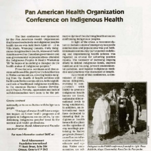 Pan American Health Organization Conference on Indigenous Health.pdf
