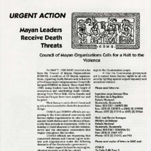 Urgent Action-Mayan Leaders Receive Death Threats.pdf